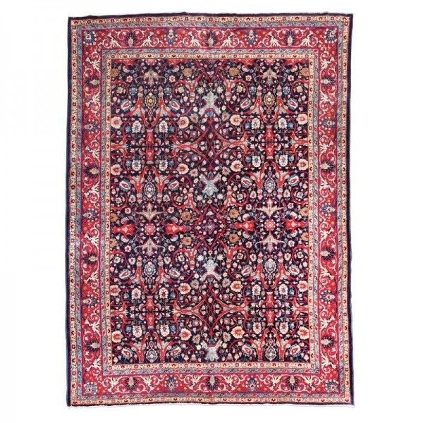 Antique Tabriz Rug with Classic...