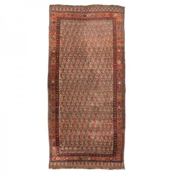 """Persian Wool Rug Kasghay with """"Bothe""""..."""