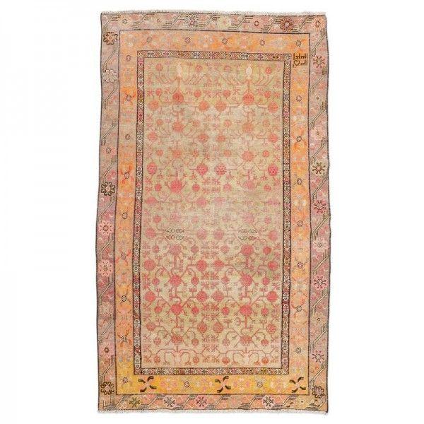 Alfombra Antigua. Samarkand, Diseño...