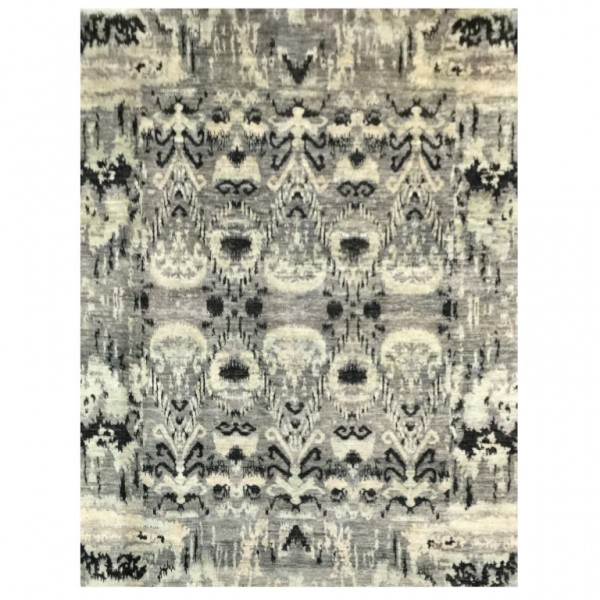 Abstract rug. Design in Silk and...